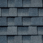 Close up photo of GAF's Timberline HD Biscayne shingle swatch